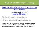 mgt 418 edu successful learning 10