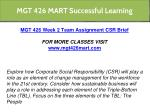 mgt 426 mart successful learning 12