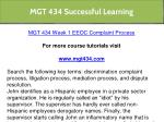 mgt 434 successful learning 7