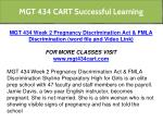 mgt 434 cart successful learning 13