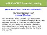 mgt 434 cart successful learning 14