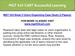 mgt 434 cart successful learning 26