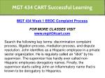 mgt 434 cart successful learning 7