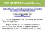mgt 448 tutor successful learning 14