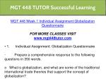 mgt 448 tutor successful learning 5