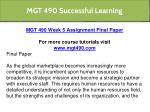 mgt 490 successful learning 12