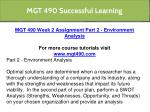 mgt 490 successful learning 4