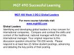 mgt 490 successful learning 9