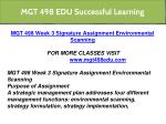 mgt 498 edu successful learning 17