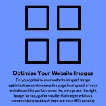 optimize your website images do you optimize your