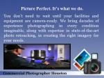 picture perfect it s what we do