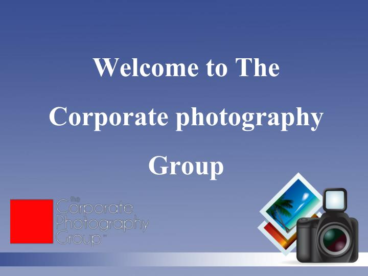 welcome to the corporate photography group n.