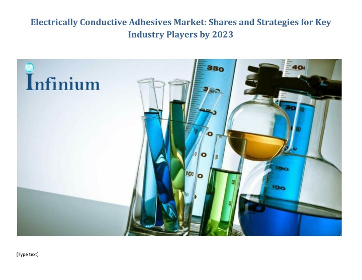 electrically conductive adhesives market shares n.