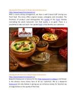 amazing best restaurant in udaipur bawarchi 1