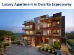 luxury apartment in dwarka expressway