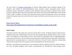 the latest report on propylene oxide market