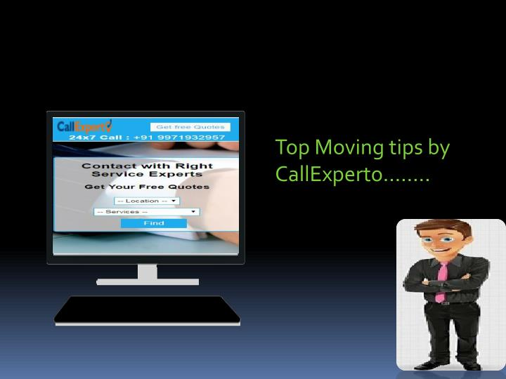 top moving tips by callexperto n.
