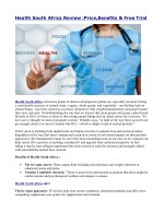 health south africa review price benefits free