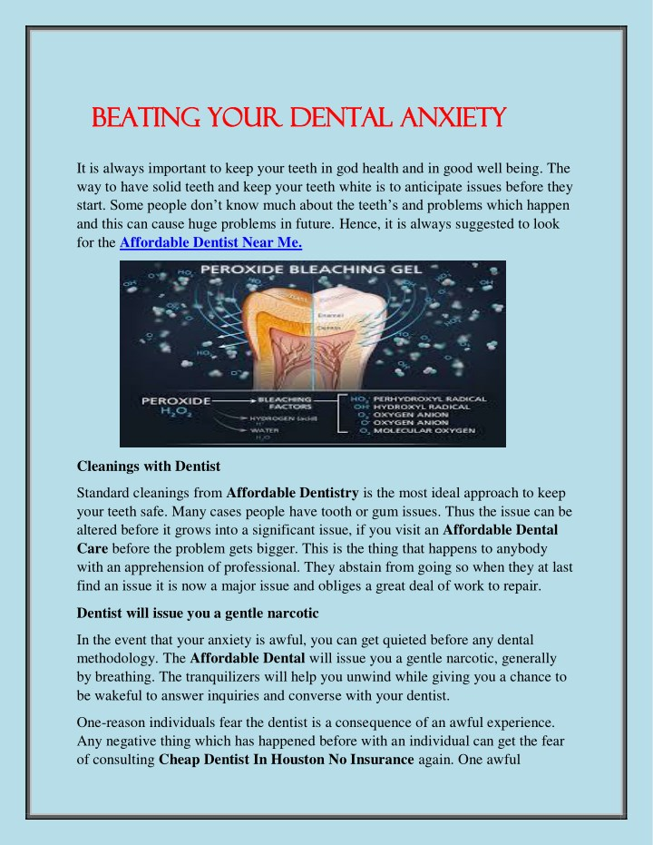 beating your dental anxiety beating your dental n.