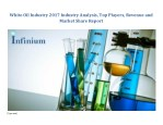 white oil industry 2017 industry analysis