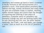 jewellery and women go hand in hand a woman