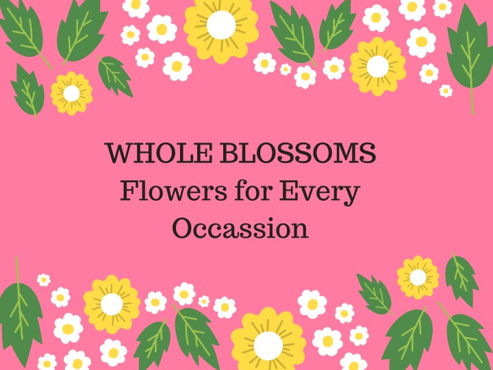 whole blossoms flowers for every occassion n.