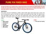 pure fix fixed bike