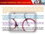 vilano rampage fixed gear bike