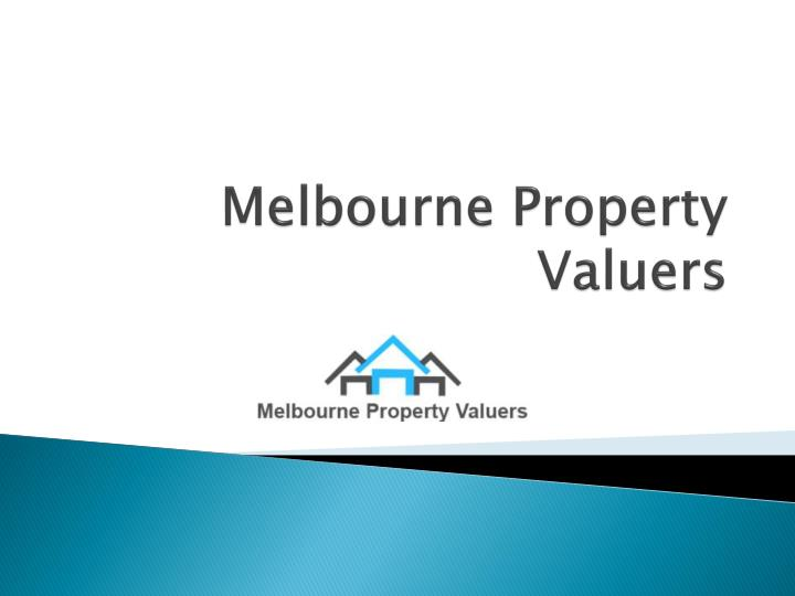 melbourne property valuers n.