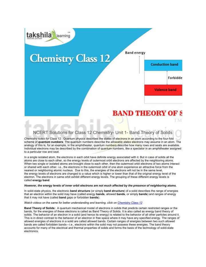 ncert solutions for class 12 chemistry unit n.