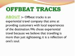 offbeat tracks