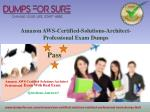 amazon aws certified solutions architect professional exam dumps