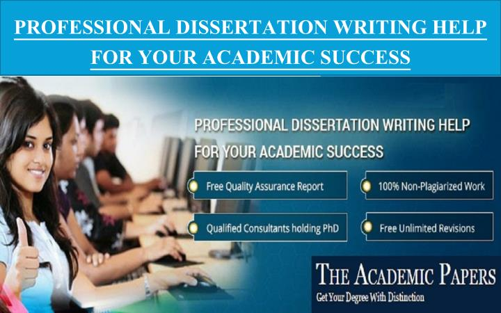professional dissertation writing help for your academic success n.