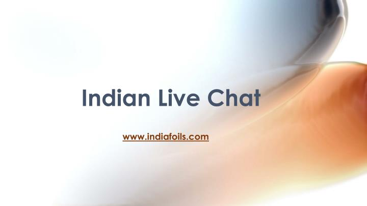 indian live chat n.