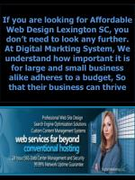 if you are looking for affordable web design