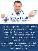 here you can purchase generic diabetic test