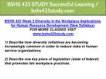 bshs 425 study successful learning bshs425study 7