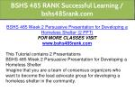 bshs 485 rank successful learning bshs485rank com 4