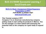 bus 212 rank successful learning bus212rank com 5