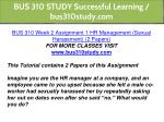 bus 310 study successful learning bus310study com 3