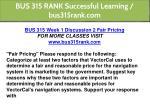 bus 315 rank successful learning bus315rank com 2