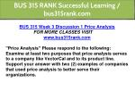 bus 315 rank successful learning bus315rank com 5