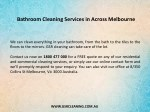 bathroom cleaning services in across melbourne 1