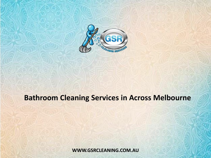 bathroom cleaning services in across melbourne n.