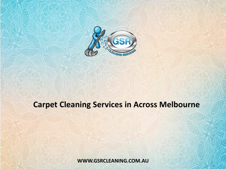 carpet cleaning services in across melbourne n.