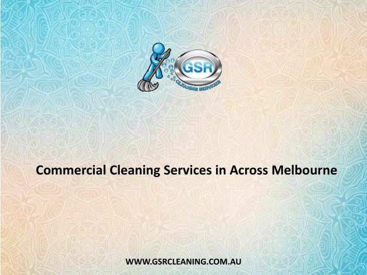 commercial cleaning services in across melbourne n.