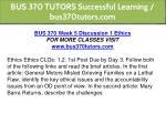 bus 370 tutors successful learning bus370tutors 14