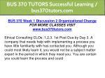 bus 370 tutors successful learning bus370tutors 4