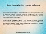 house cleaning services in across melbourne 1