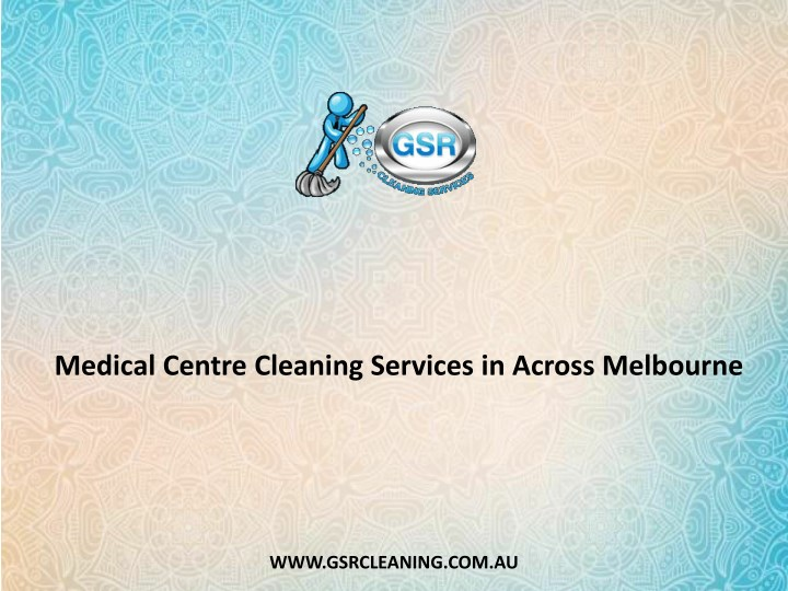 medical centre cleaning services in across n.